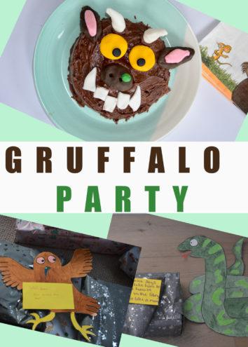 Fun ideas for a Gruffalo Party - Gruffalo food, Gruffalo treasure hunt and Gruffalo games