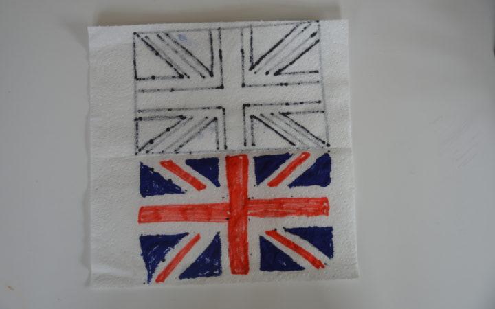 Magic Paper towel Flag - Union Jack