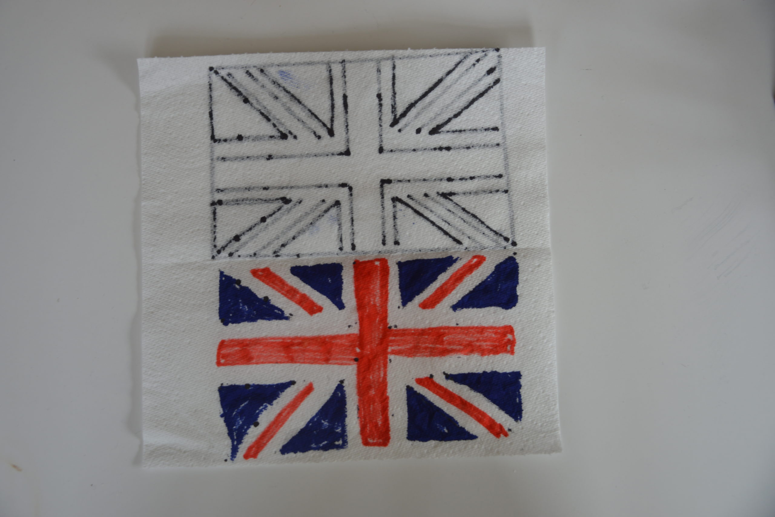 Magic Paper towel Flag - Union Jack