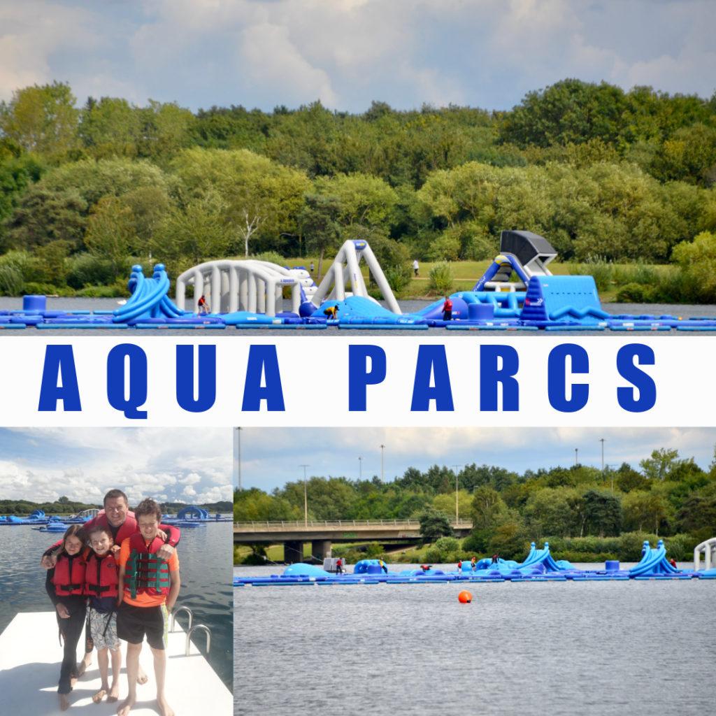 Review of Aqua Parcs at Willen Lake, Milton Keynes.
