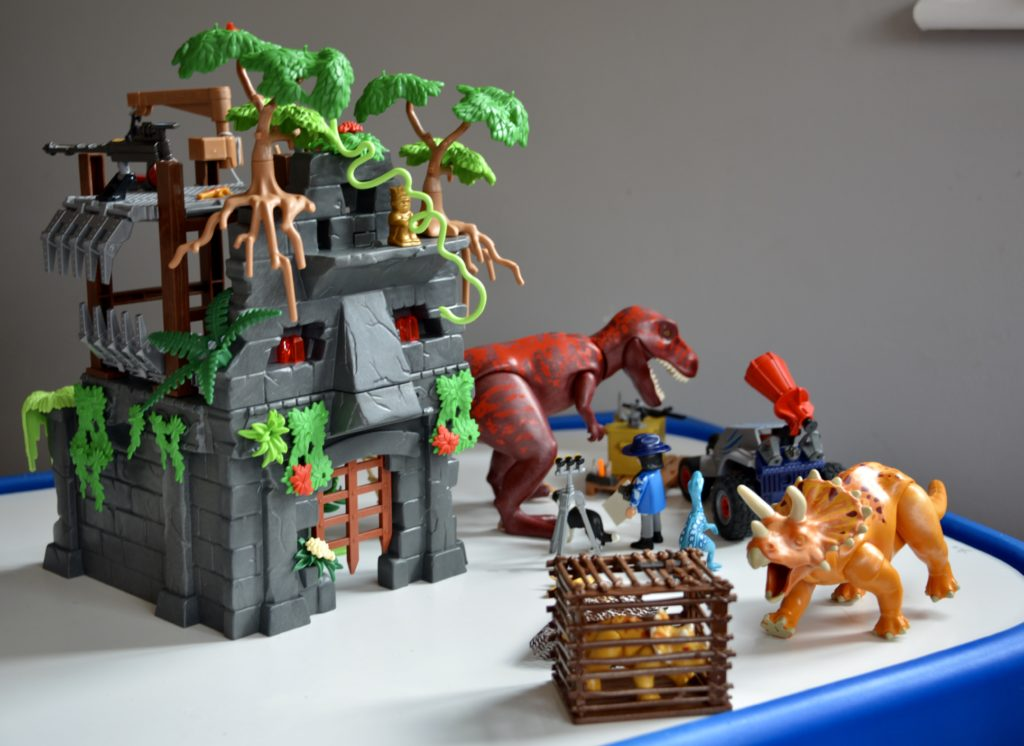PlayMobil Dinos - Hidden Temple