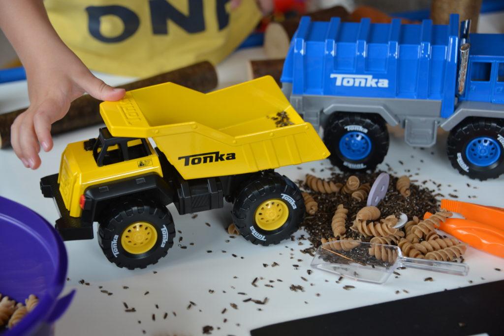 Tonka mighty trucks creative play