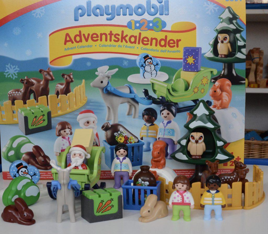 Toy Christmas advent calendar