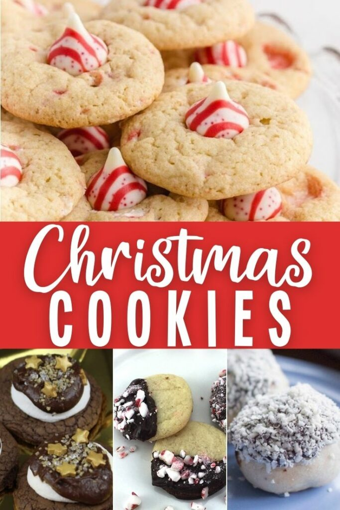 Easy festive Christmas cookies #christmas #Christmascookierecipes #Christmasbiscuits
