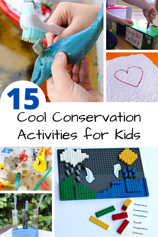 15 cool conservation activities - learn about the environment with these brilliant conservation activities for kids