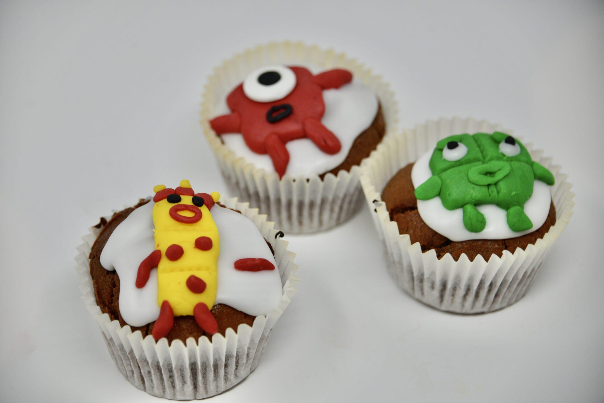 Numberblocks cupcakes