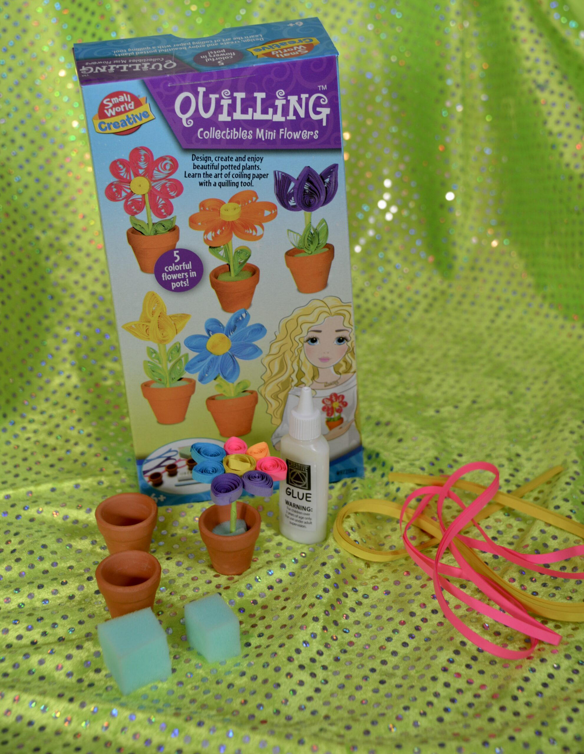 Quilling  Collectibles - Mini flower Kit