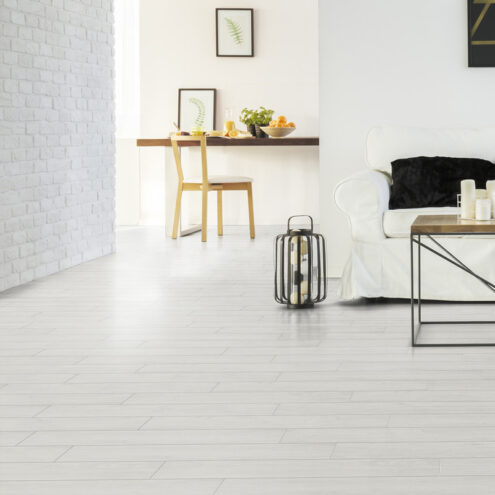 Image of the inside of a house with a beautiful floor