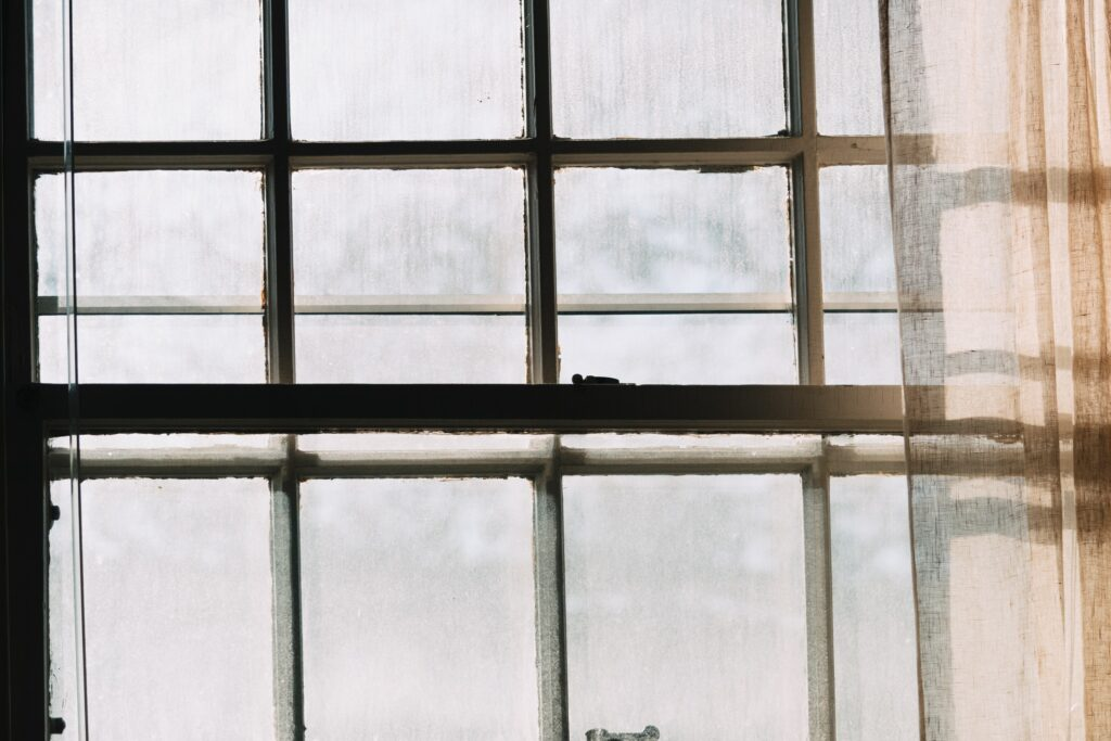 Image of an old fashioned window